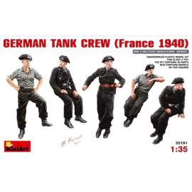 Miniart 1:35 German Tank Crew (France 1940)