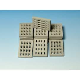 Eureka 1:35 Modern Concrete Road Panels (Perforated)