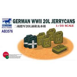 Bronco 1:35 German WWII 20L Jerry Cans