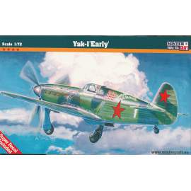 Mistercraft 1:72 Yak-1 Early