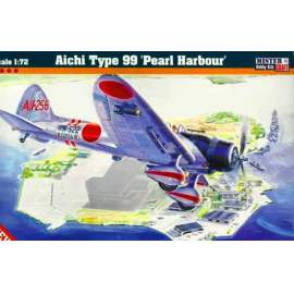 Mistercraft 1:72 - Aichi Type 99 Pearl Harbour