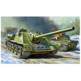Zvezda 1:72 Soviet Self-propelled Gun SU-100