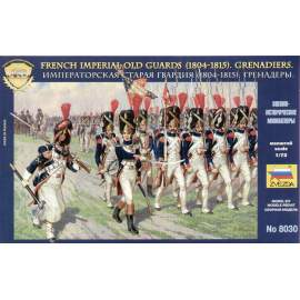 Zvezda 1:72 French Emperors Old Guards 1805-1815