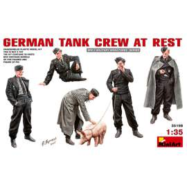 Miniart 1:35 German Tank Crew at Rest