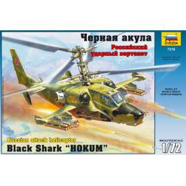 "Zvezda 1:72 Russian Attack Helicopter ""Hokum"" (re-release)"