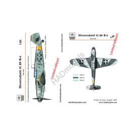 HADModels - 1:48 Messerschmitt Bf 109 G-6 decal sheet