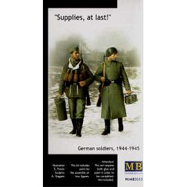 Masterbox 1:35 Supplies at last! German (WWII) Soldiers 1944-45