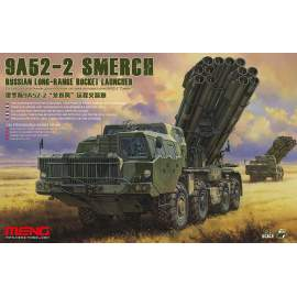 Meng Model 1:35 Russian Long-Range Rocket Launcher 9A52-2 Smerch