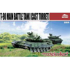 Modelcollect 1:72 T-90 Main Battle Tank (cast turret)