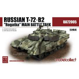 "Modelcollect 1:72 Russian T-72B2""Rogatka""Main Battle Tank"