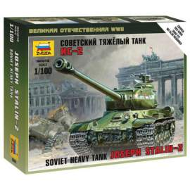 Zvezda 1:100 IS-2 Stalin Military small set