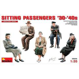 Miniart 1:35 German Sitting Civilians ´30s-´40s