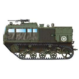 Hobbyboss 1:72 M4 High Speed Tractor (3-in./90mm)