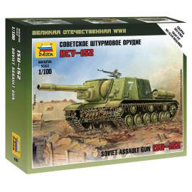 Zvezda 1:100 ISU-152 Self Propelled Gun