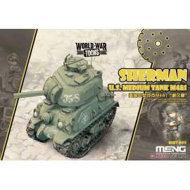 Meng Model U.S.Medium Tank M4A1 Sherman