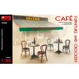 Miniart 1:35 Café Furniture & Crockery