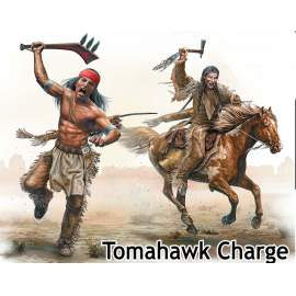 Masterbox 1:35 Indian Wars Series, kit No. 2. Tomahawk Charge