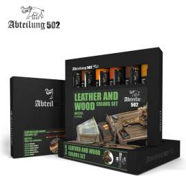 Abteilung502 - Leather and Wood Set