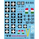 HADModels - 1:72 Messerschmitt Bf 109 F-4/b matrica