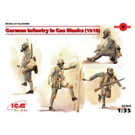 ICM 1:35 German Infantry in Gas Masks (1918)