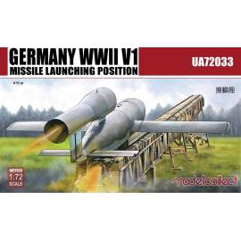 Modelcollect 1:72 Germany WWII V1 Missile launching position 2 in 1