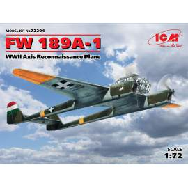 ICM 1:72 FW 189A-1, WWII Axis Reconnaissance Plane (Hungarian air force)