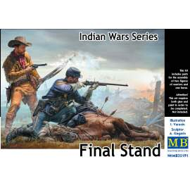 Masterbox 1:35 Indian Wars Series, Final Stand