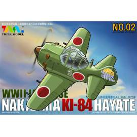 Tiger Model - Cute Plane WWII Japanese KI84 Fighter