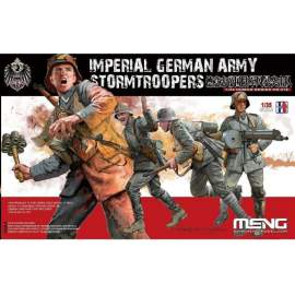 Meng Model 1:35 Imperial German Army Stormtroopers