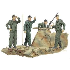 Dragon 1:35 Panzer crew - Achtung Jabo! (France 1944)
