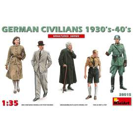 Miniart 1:35 German Civilians 1930-40s