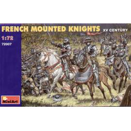 Miniart 1:72 French mounted Knights XV Century