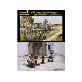 Caesar Miniatures 1:72 WWII German Fallschirmjager Heavy Weapons