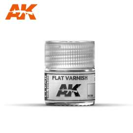 AK Real Color - Flat Varnish (matt lakk)