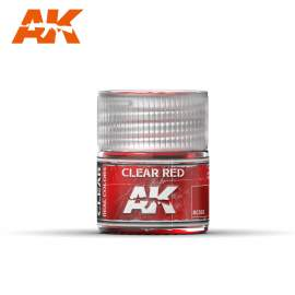 AK Real Color - Clear Red (áttetsző vörös)