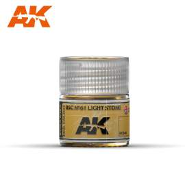 AK Real Color - BSC Nº61 Light Stone