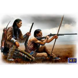 Masterbox 1:35 Indian Wars Series. Remote shot figura makett