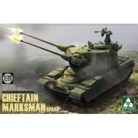 Takom 1:35 British Air-defense Weapon System Chieftain Marksman
