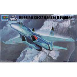 Trumpeter 1:72 Russian Su-27 Flanker B Fighter