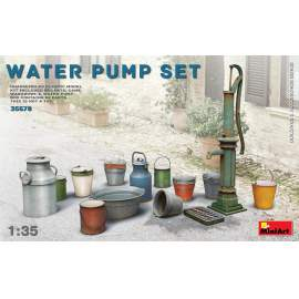 Miniart - 1:35 Water Pump Set