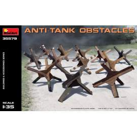 Miniart 1:35 Anti-tank Obstacles