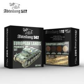 Abteilung 502 European lands pigment set