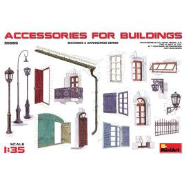 Miniart 1:35 Accessories for Buildings