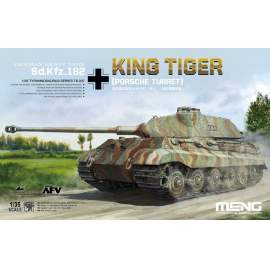 Meng Model 1:35 German Heavy Tank Sd.Kfz.182 King Tiger (Porsche Turret)