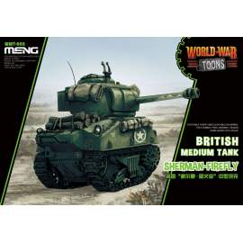 Meng Model British Medium Tank Sherman-Firefly (CARTOON MODEL)