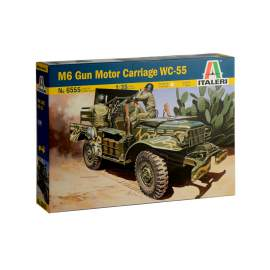 Italeri 1:35 37mm Gun Motor Carriage M6 harcjármű makett
