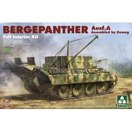 Takom 1:35 Bergepanther Ausf.A - DEMAG - full Interior