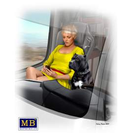 Masterbox 1:24 Joni (Lookout) Johnson & her dog Maxx