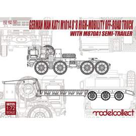 Modelcollect 1:72 German MAN M1014 8X8 High mobility off road truck