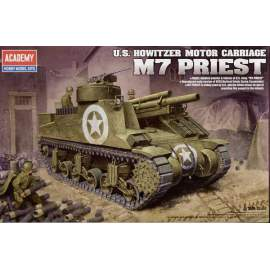 Academy 1:35 M7 Priest 105mm Howitzer Motor Carriage (Re-Release)